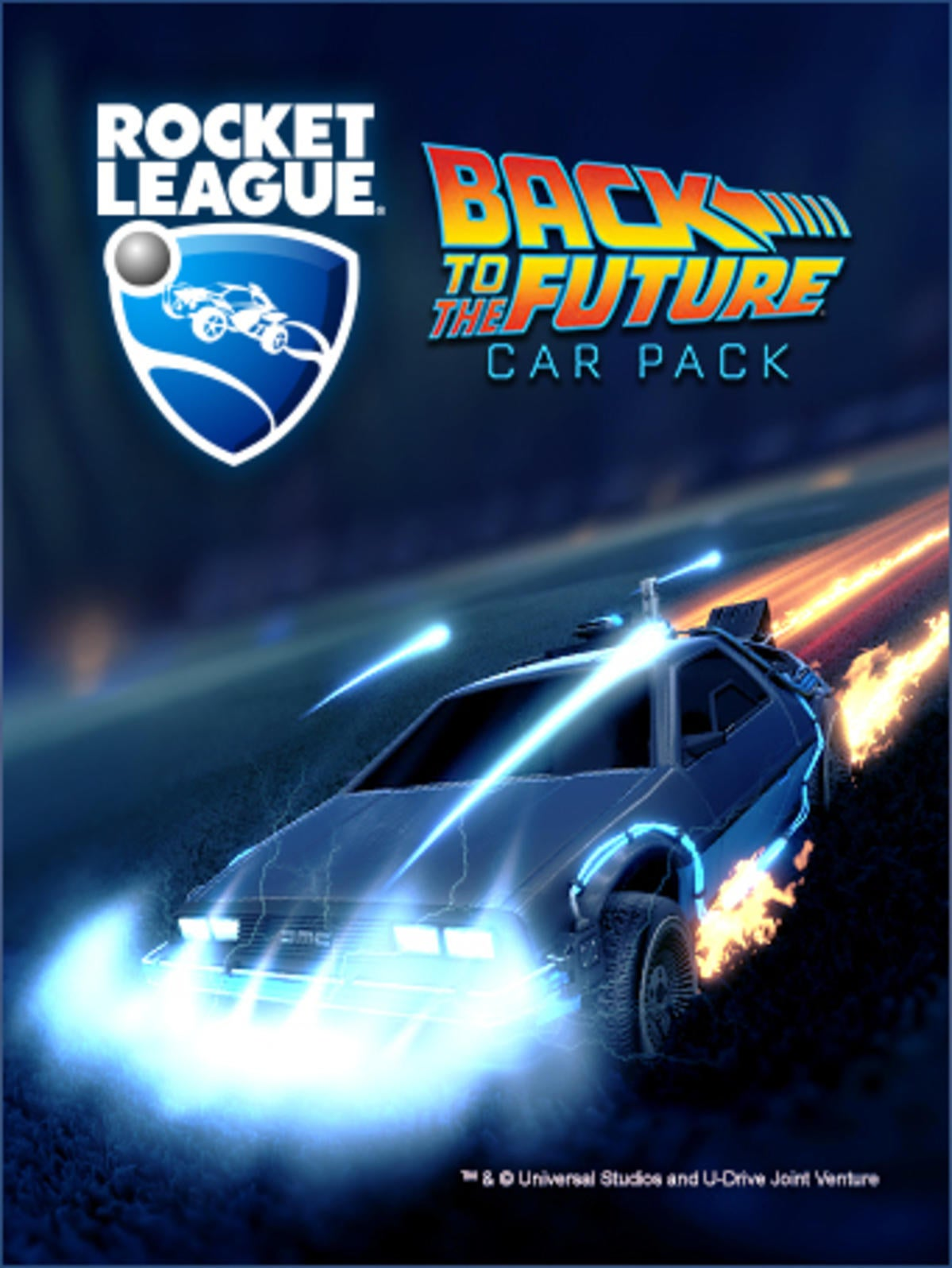 Dodge Ice Charger >> Back to the Future | Rocket League® - Official Site