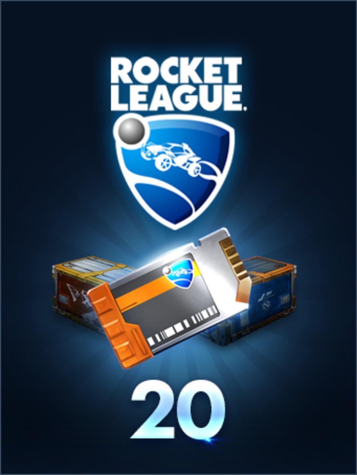 Rocket League Garage >> Crate Unlock Key x20 | Rocket League® - Official Site
