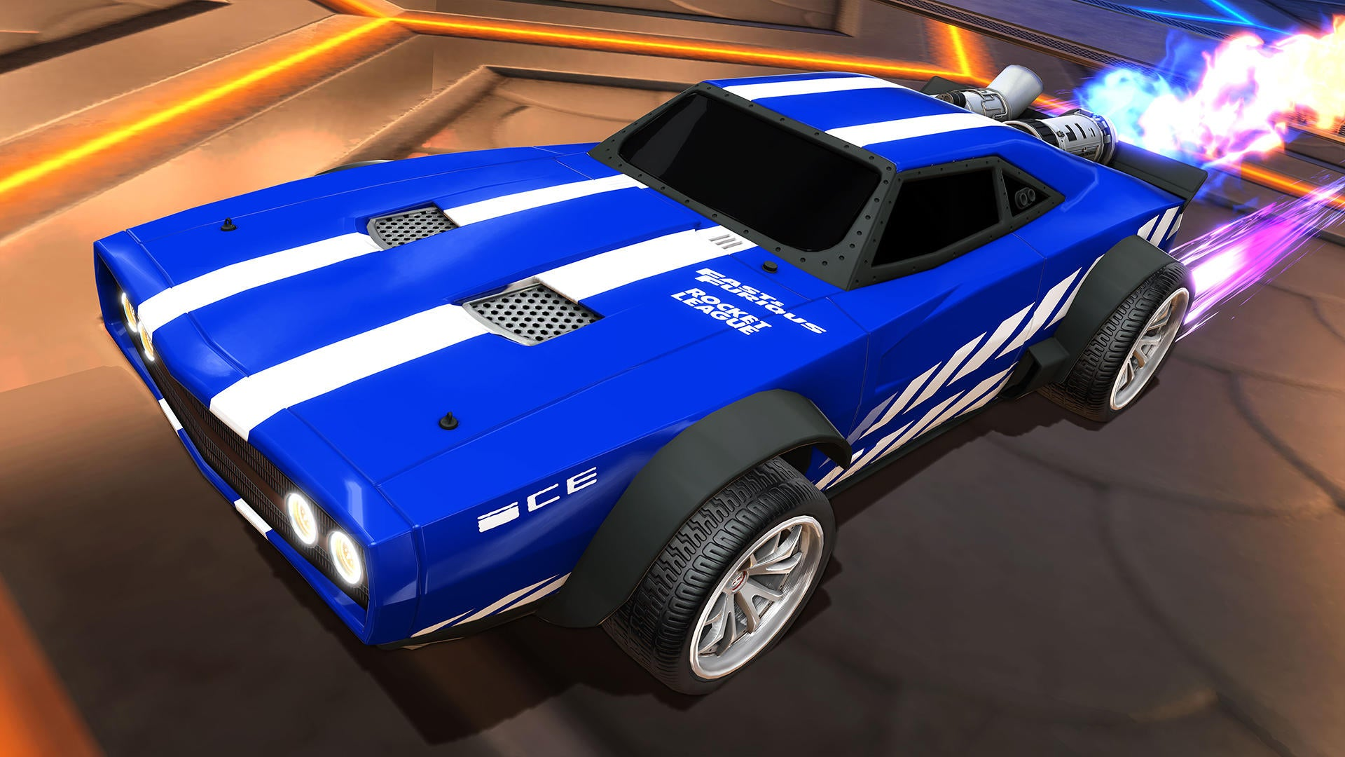 Dodge Ice Charger >> Fast Furious Rocket League Official Site