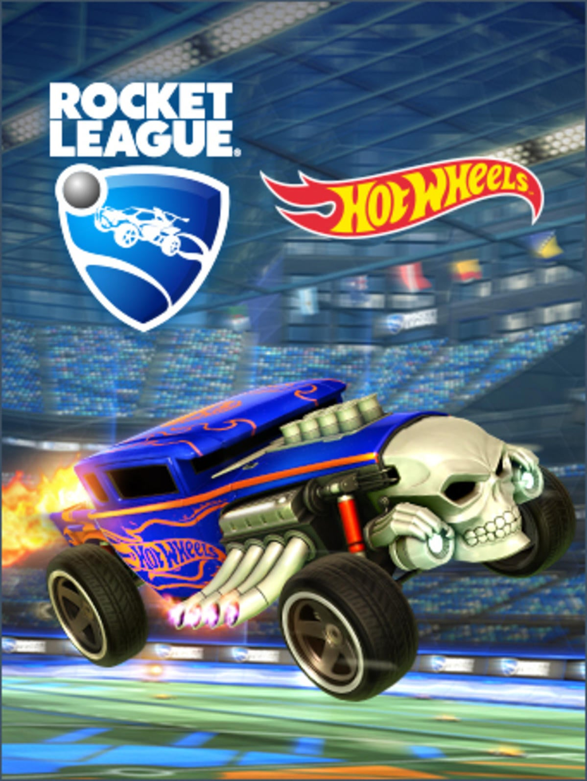 Dodge Ice Charger >> Rocket League® - Hot Wheels® Bone Shaker™ | Rocket League® - Official Site