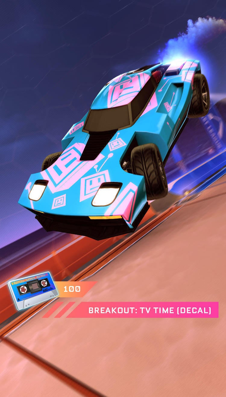 Breakout: TV Time (Decal)