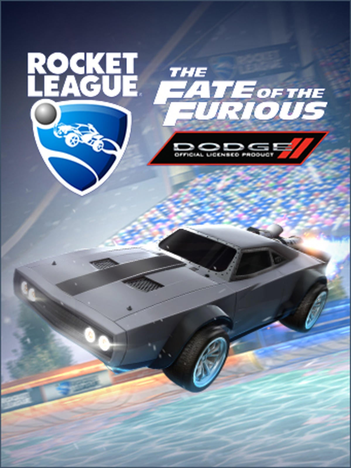 Dodge Ice Charger >> The Fate of the Furious™ Ice Charger | Rocket League® - Official Site