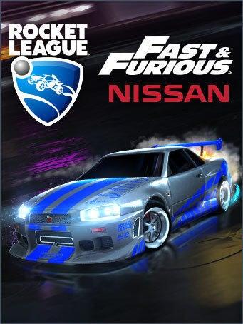 Nissan Official Site >> Rocket League® - The Fast & Furious™ Nissan Skyline GT-R R34 | Rocket League® - Official Site