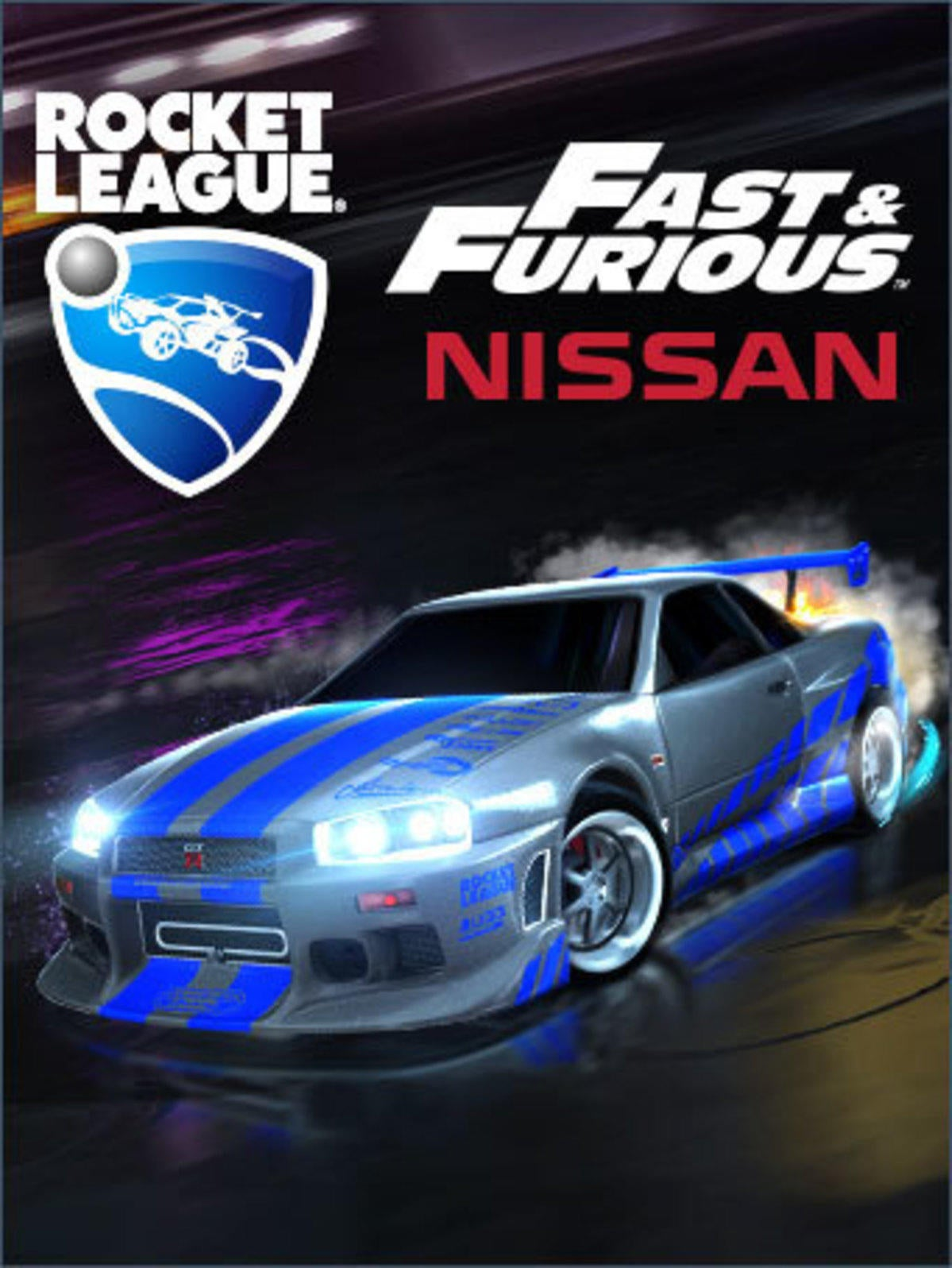 Rocket League 174 The Fast Amp Furious Nissan Skyline Gt R