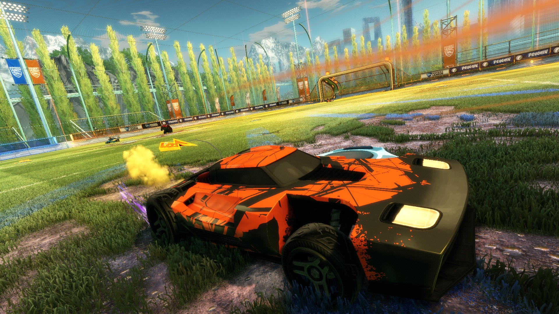 Rocket League Out Today, Free for PS Plus Members Image
