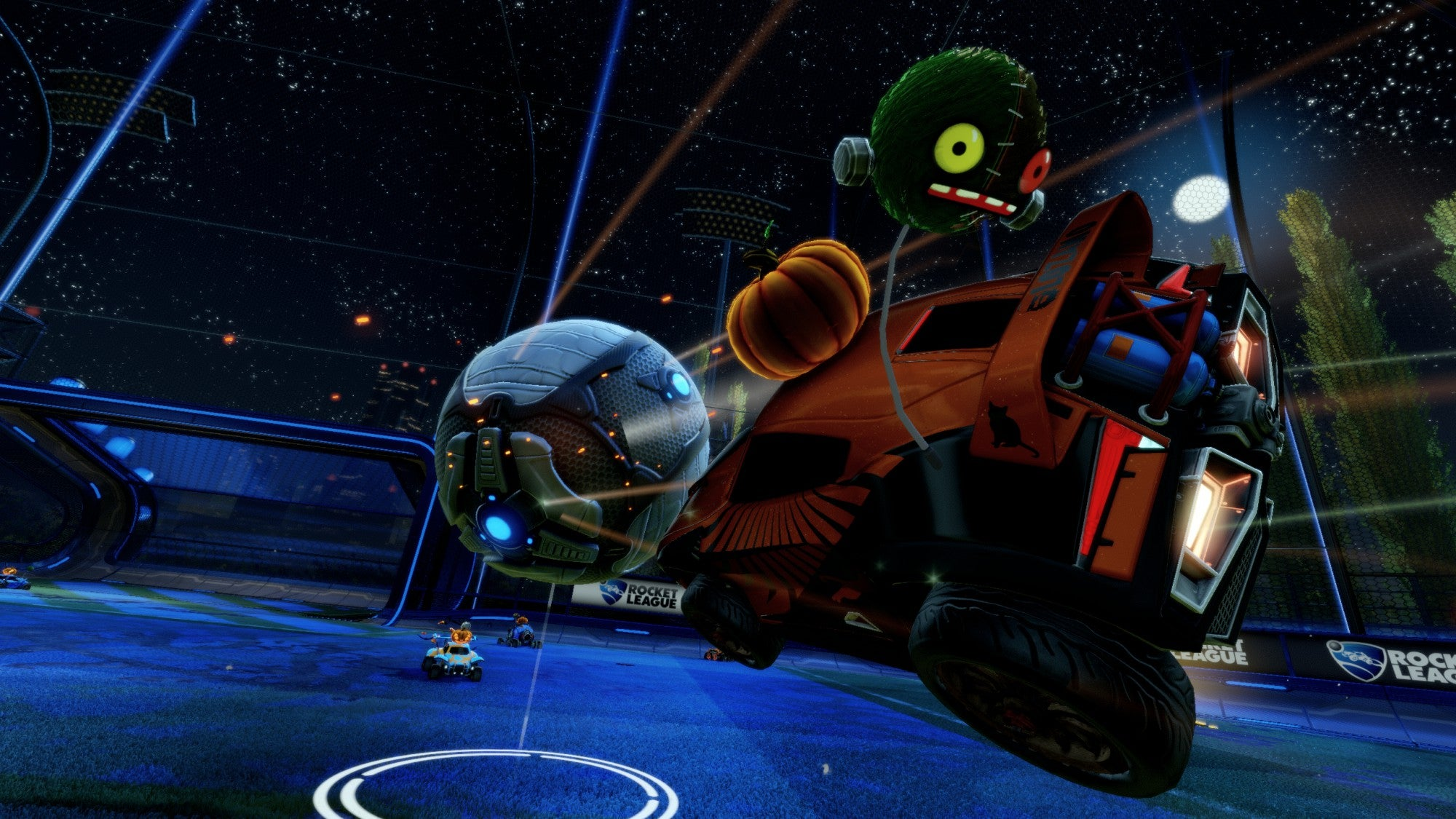 free halloween items coming to rocket league - Halloween Items