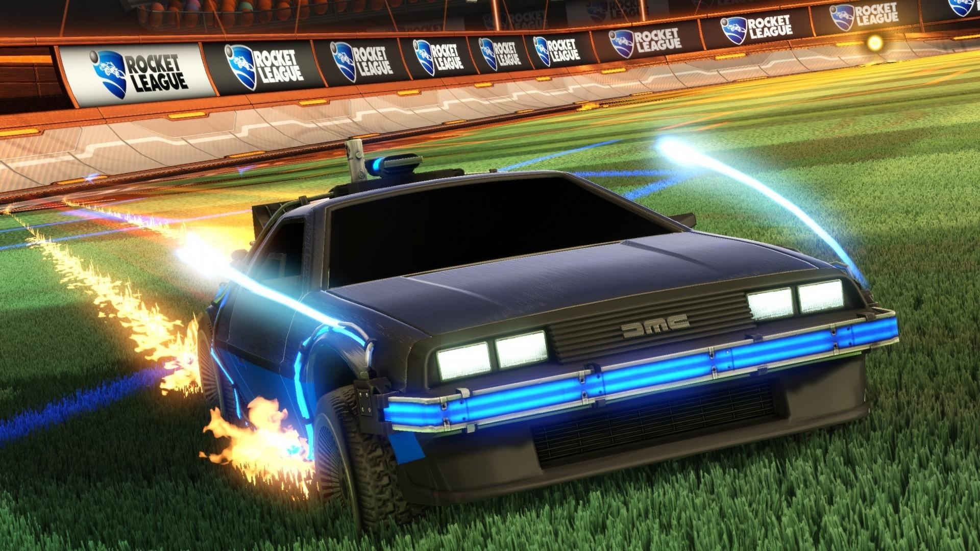 Rocket League Goes Back To The Future Rocket League Official