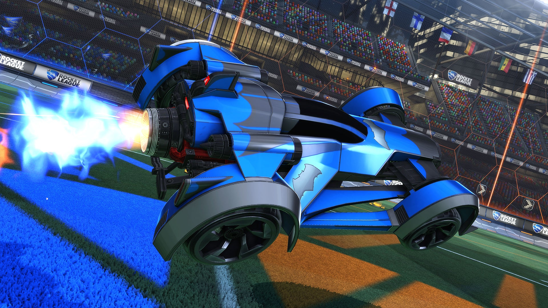 All Fast And Furious Cars >> DC Super Heroes DLC Pack | Rocket League® - Official Site