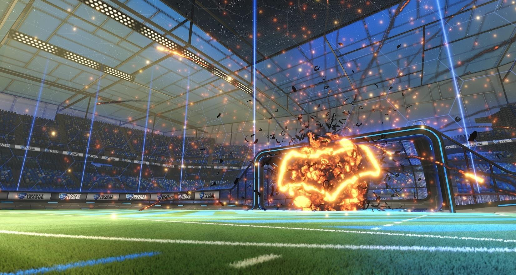 The Batmobile's New Goal Explosion Image