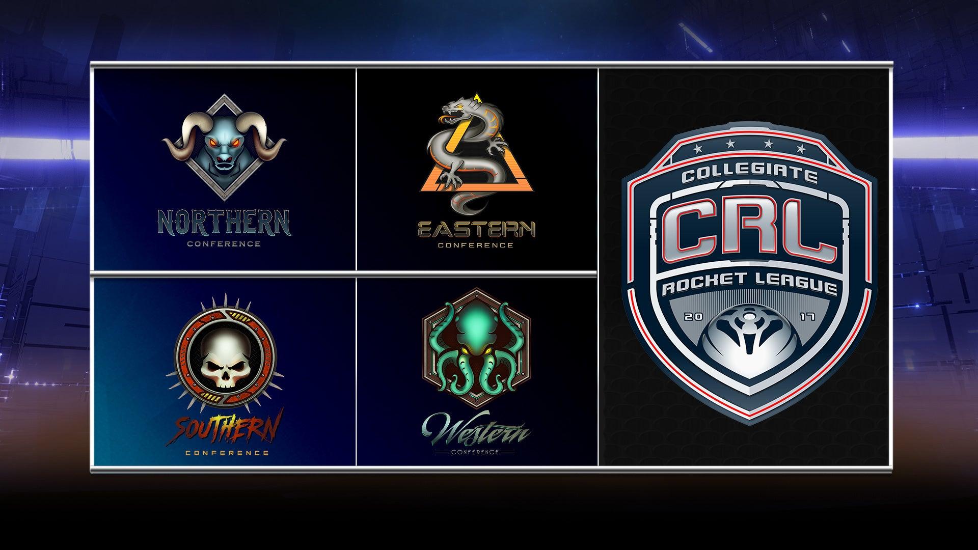Cada uno de los ocho equipos que competirán en cada una de las cuatro conferencias