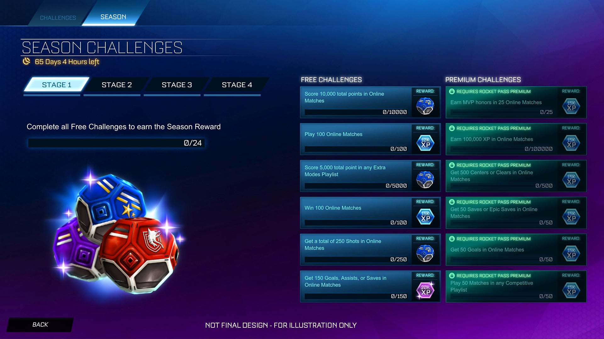 Desafios Rocket League: um olhar mais atento | Rocket League®