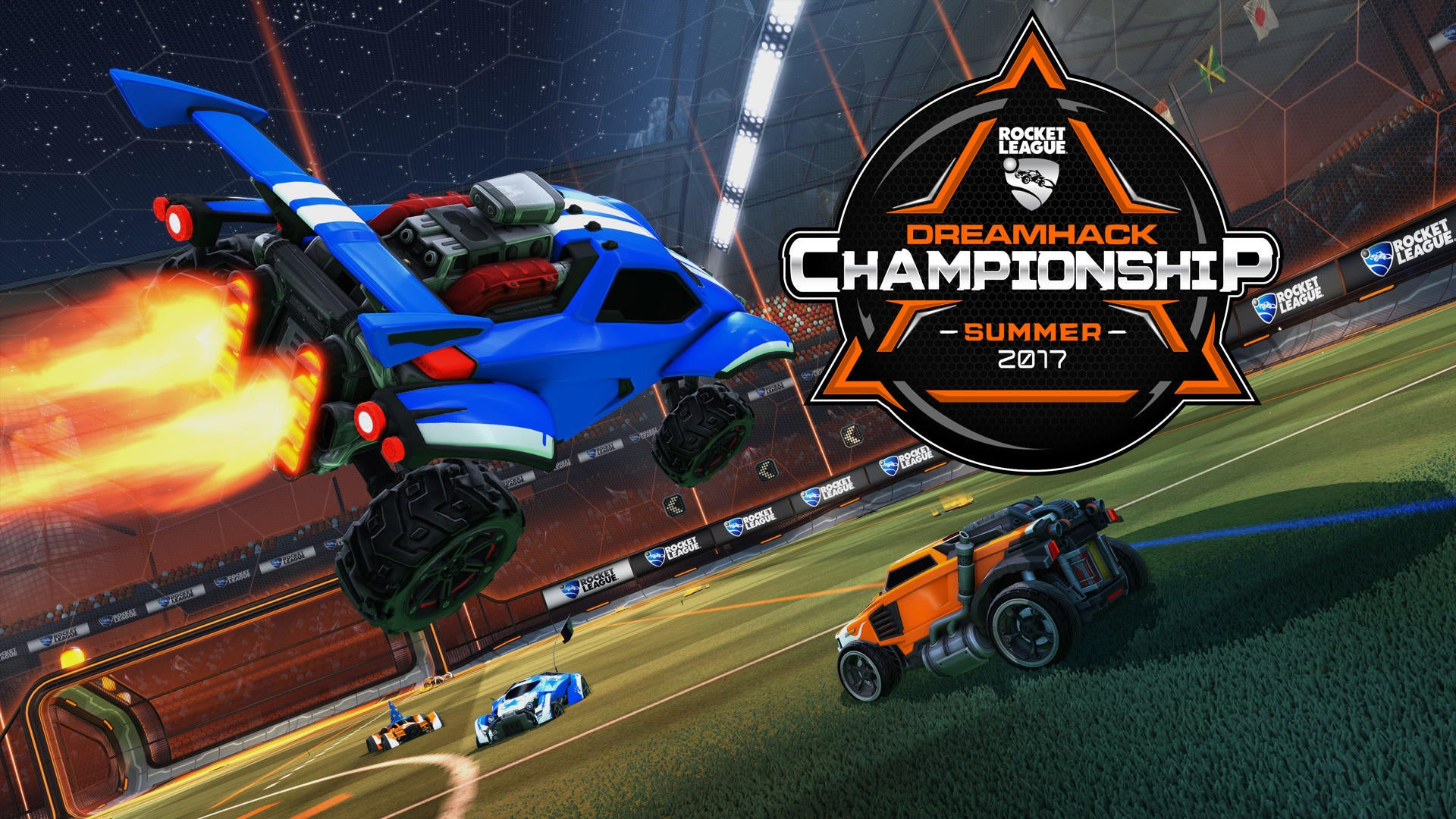 Rocket League Brings $100,000 in Prize Pools to DreamHack This Summer Image