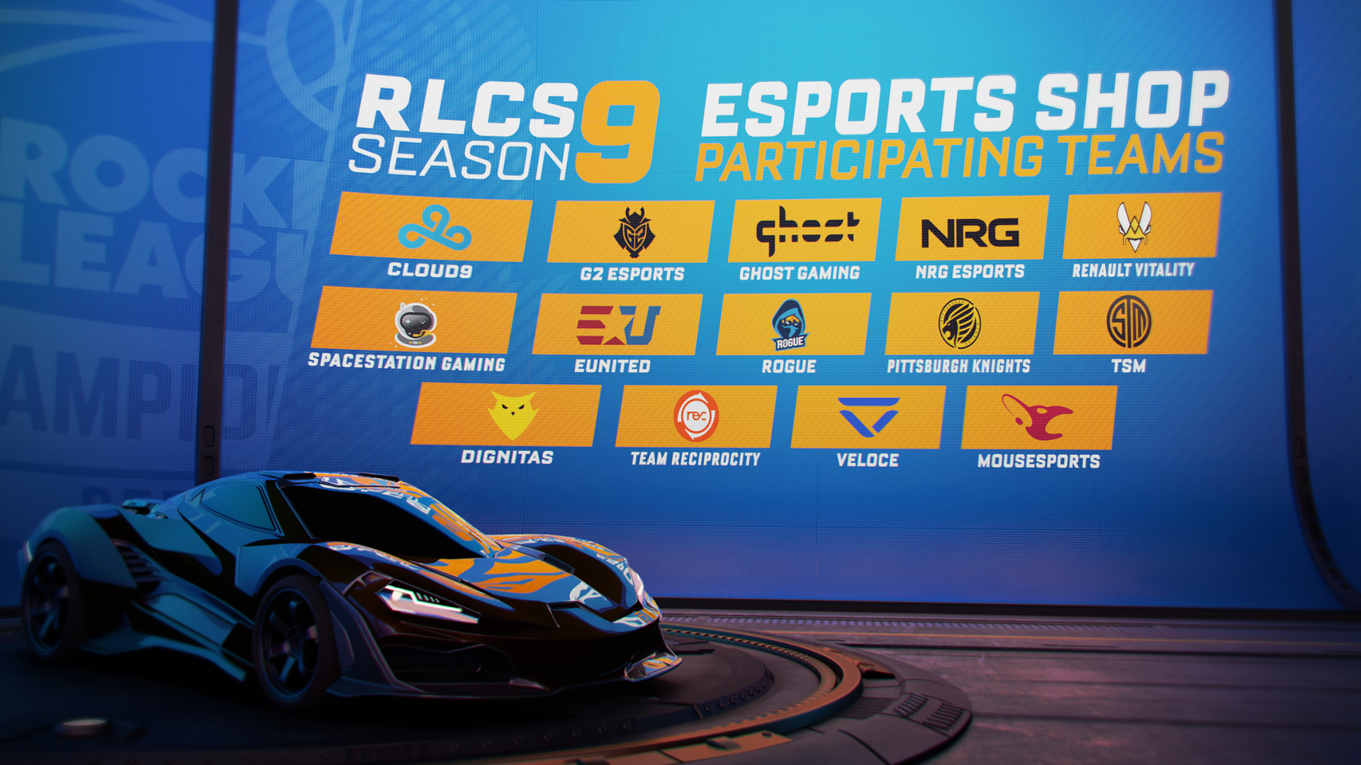 rocket league esports shop fan rewards update