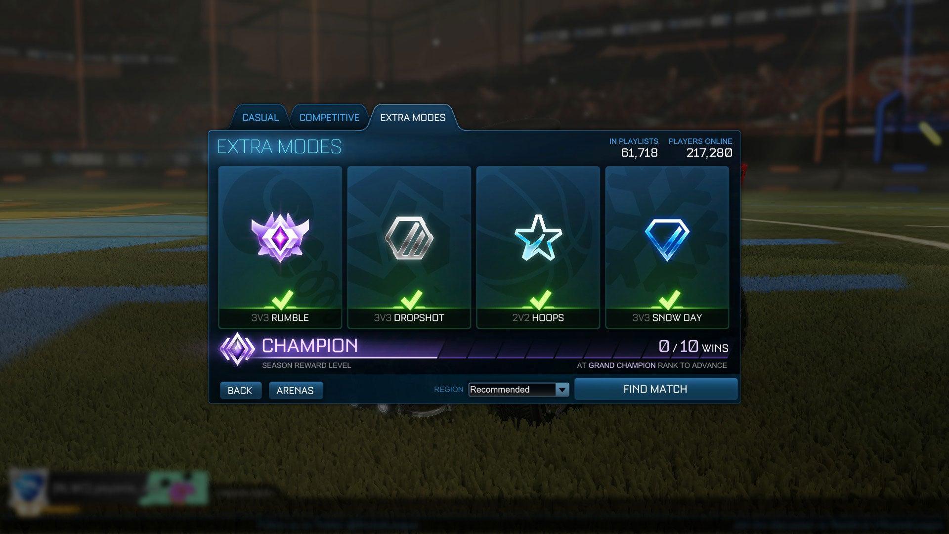 league ranked down
