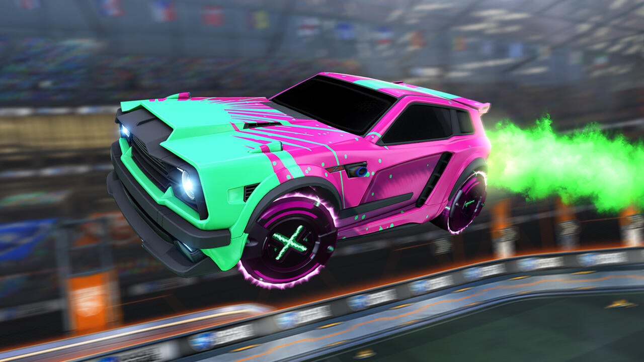 Zeus Decal (Fennec) | X-Tempo (Radiant) Wheels