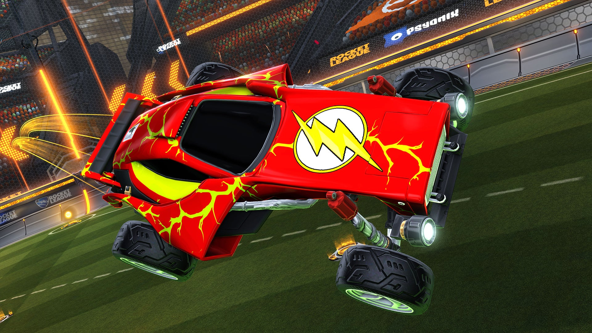 DC Super Heroes DLC Pack Rocket League Official Site