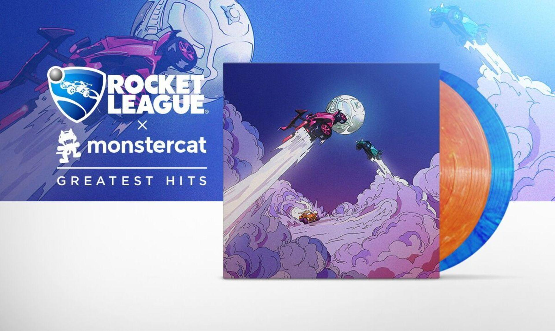 Pre-Order The First-Ever Rocket League x Monstercat Greatest Hits Vinyl! Image