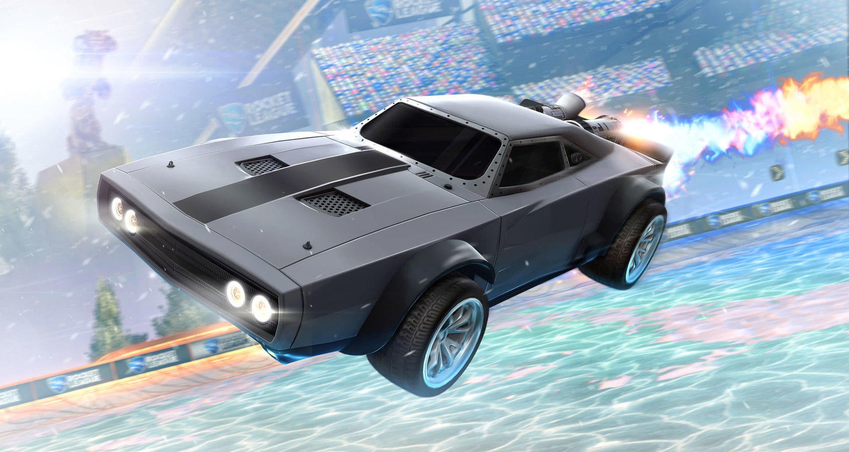 Rocket League Teams Up With The Fate Of The Furious Image