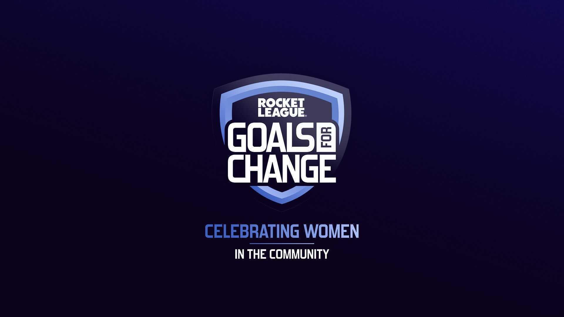 Introducción a Rocket League: Goals For Change Image