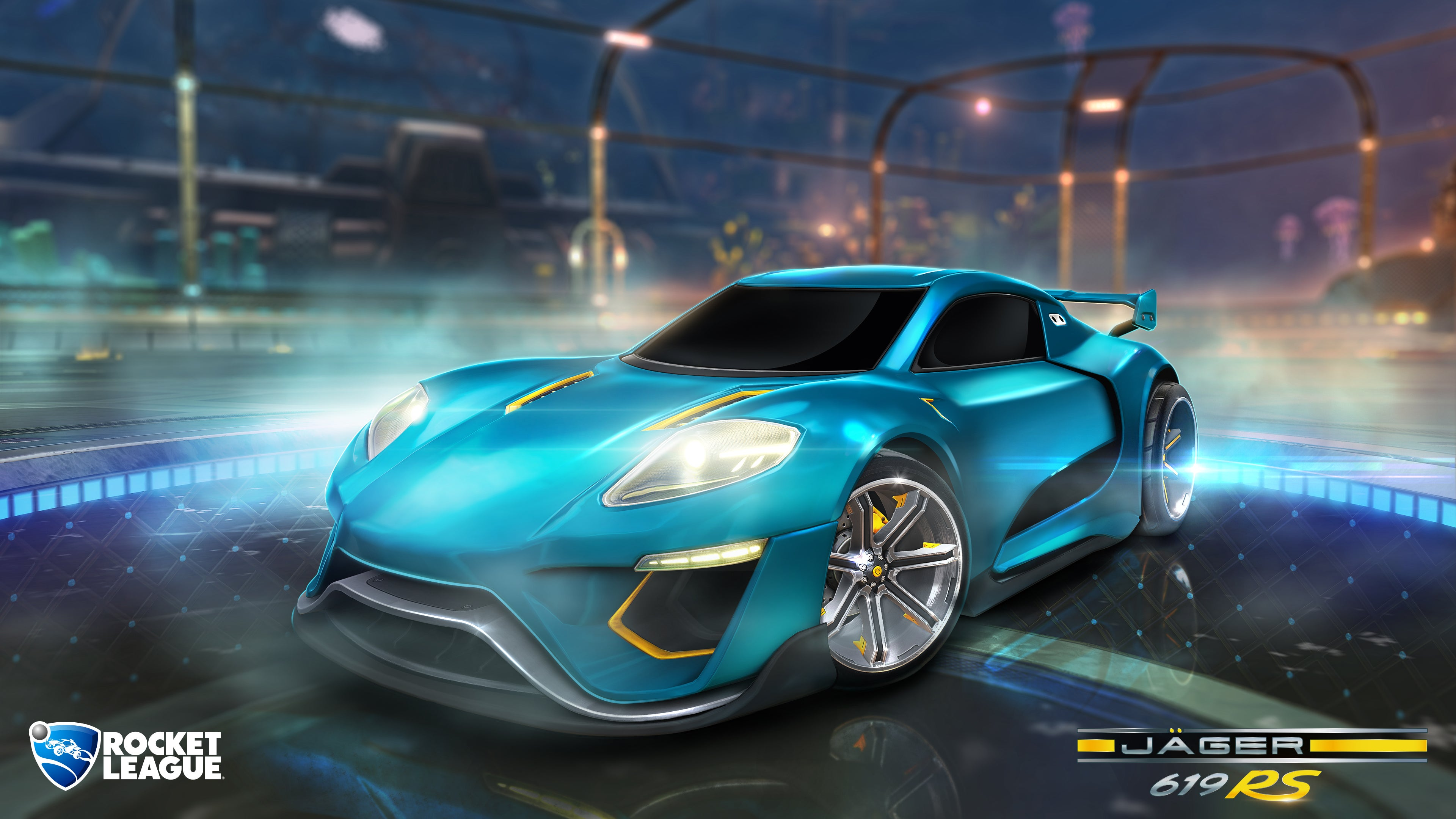 Rocket League Metalic Paint Car