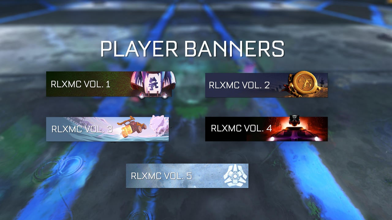 RLXMC Player Banners