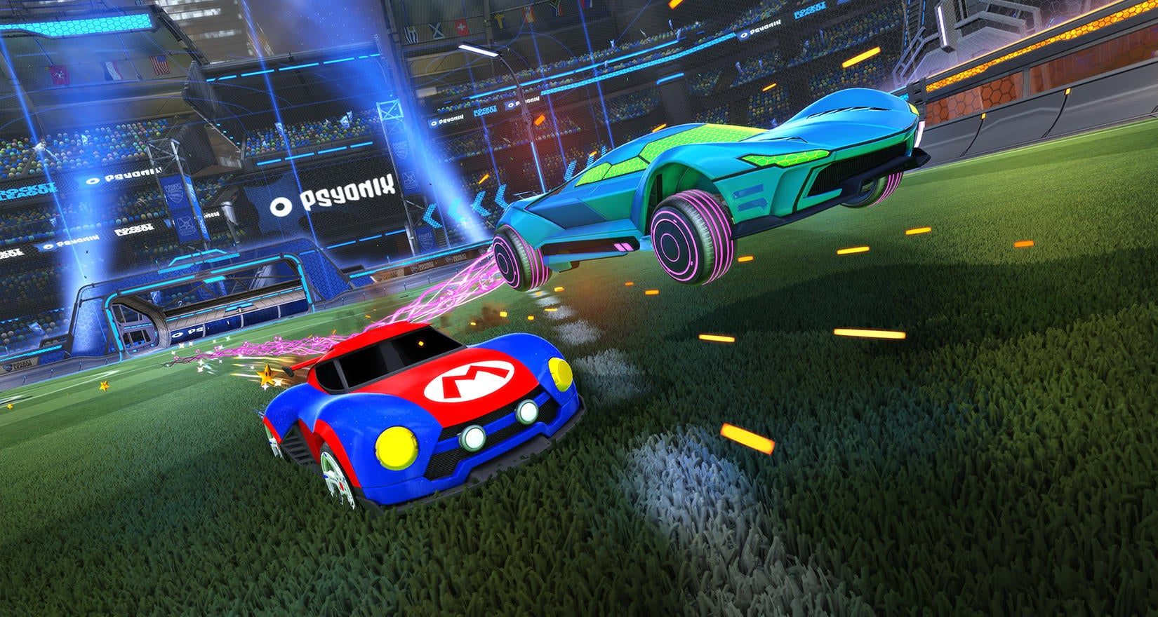 Rocket League Arrives on Nintendo Switch Next Month
