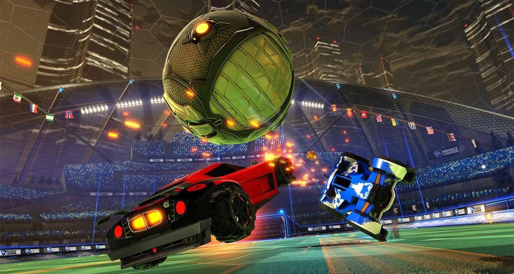 Rocket League Upgrades for Xbox One X Image
