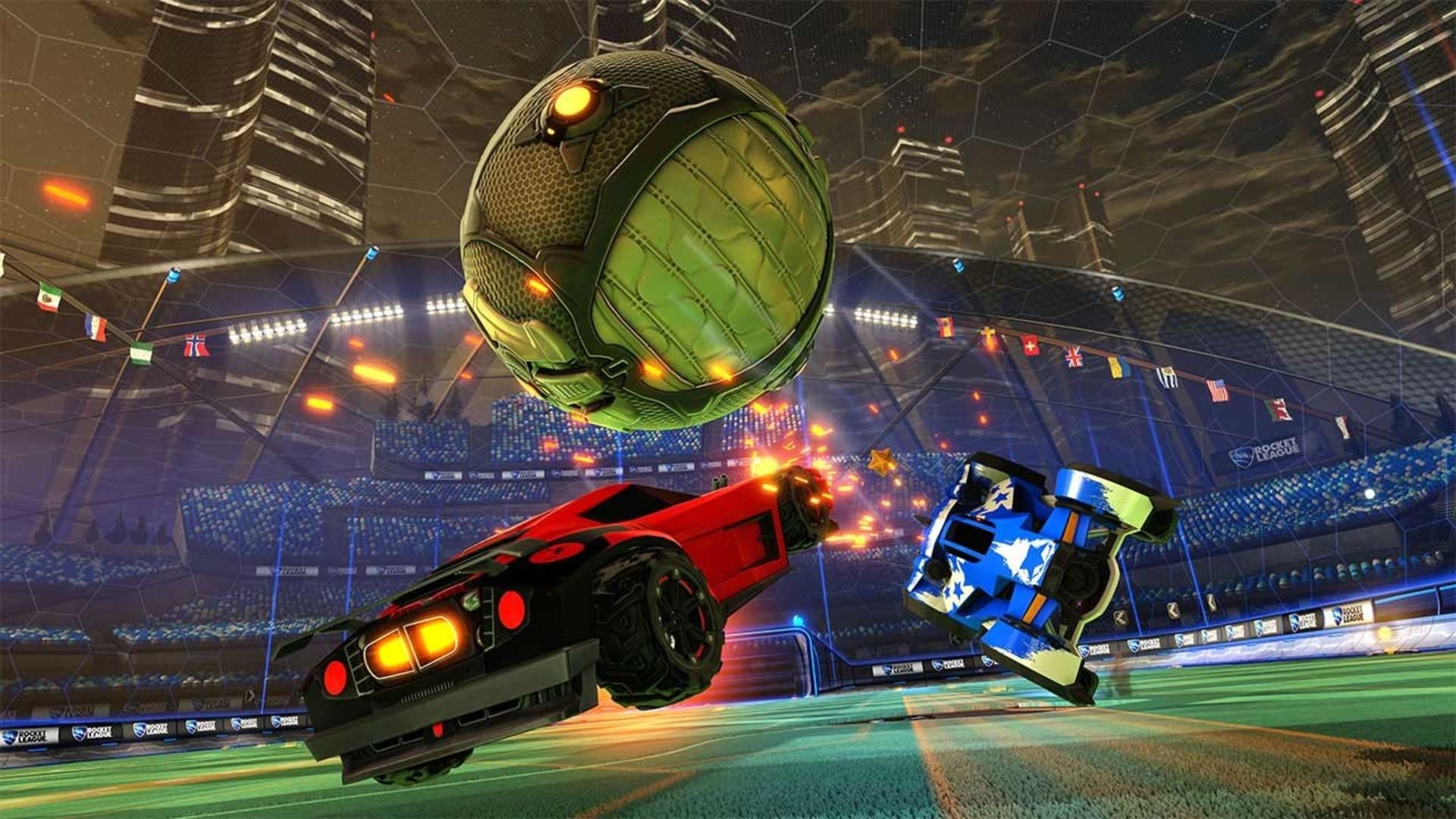 Image result for rocket league screenshot
