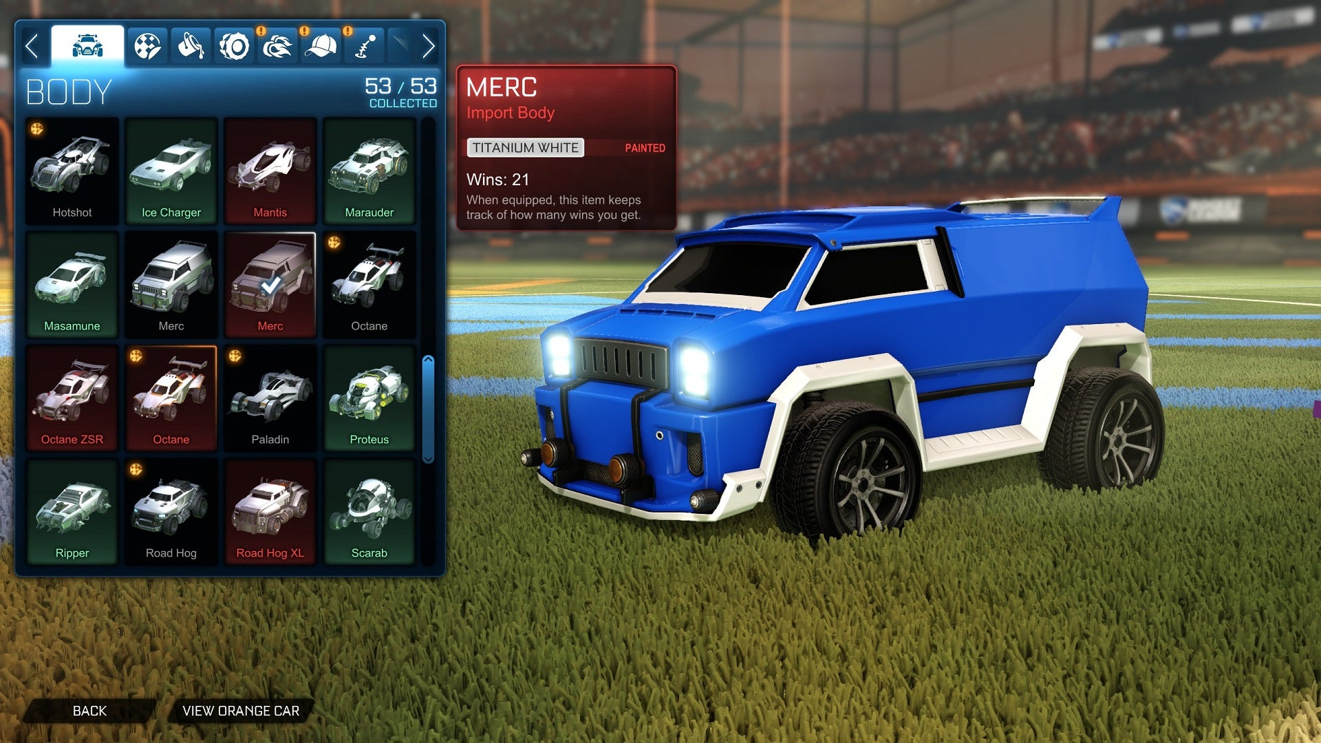 Trade In System Expansion Now Live Rocket League