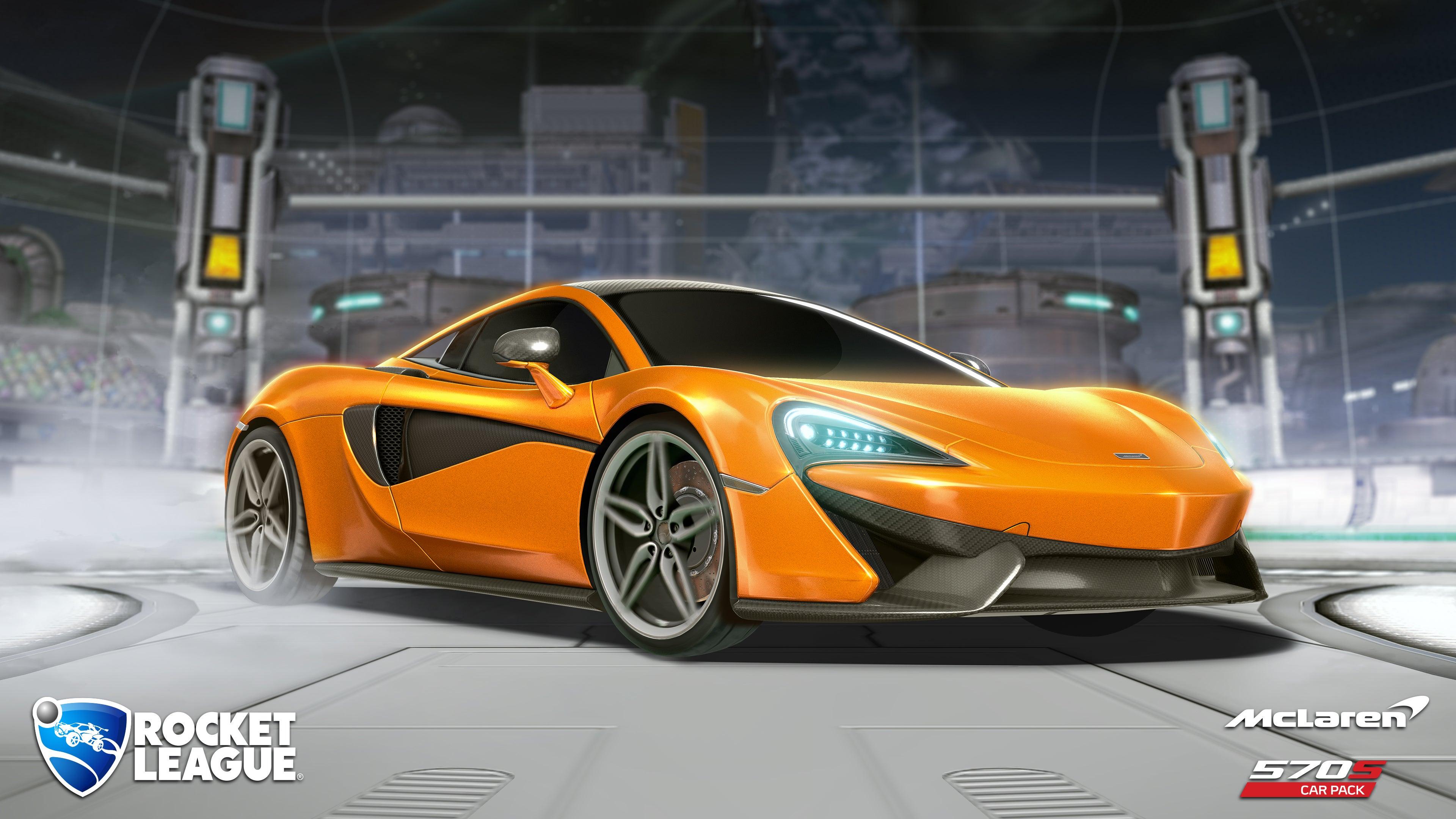 mclaren 570s car pack available now rocket league official site
