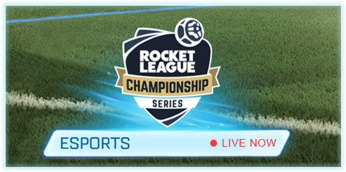 RLCS 'Live Now' Button