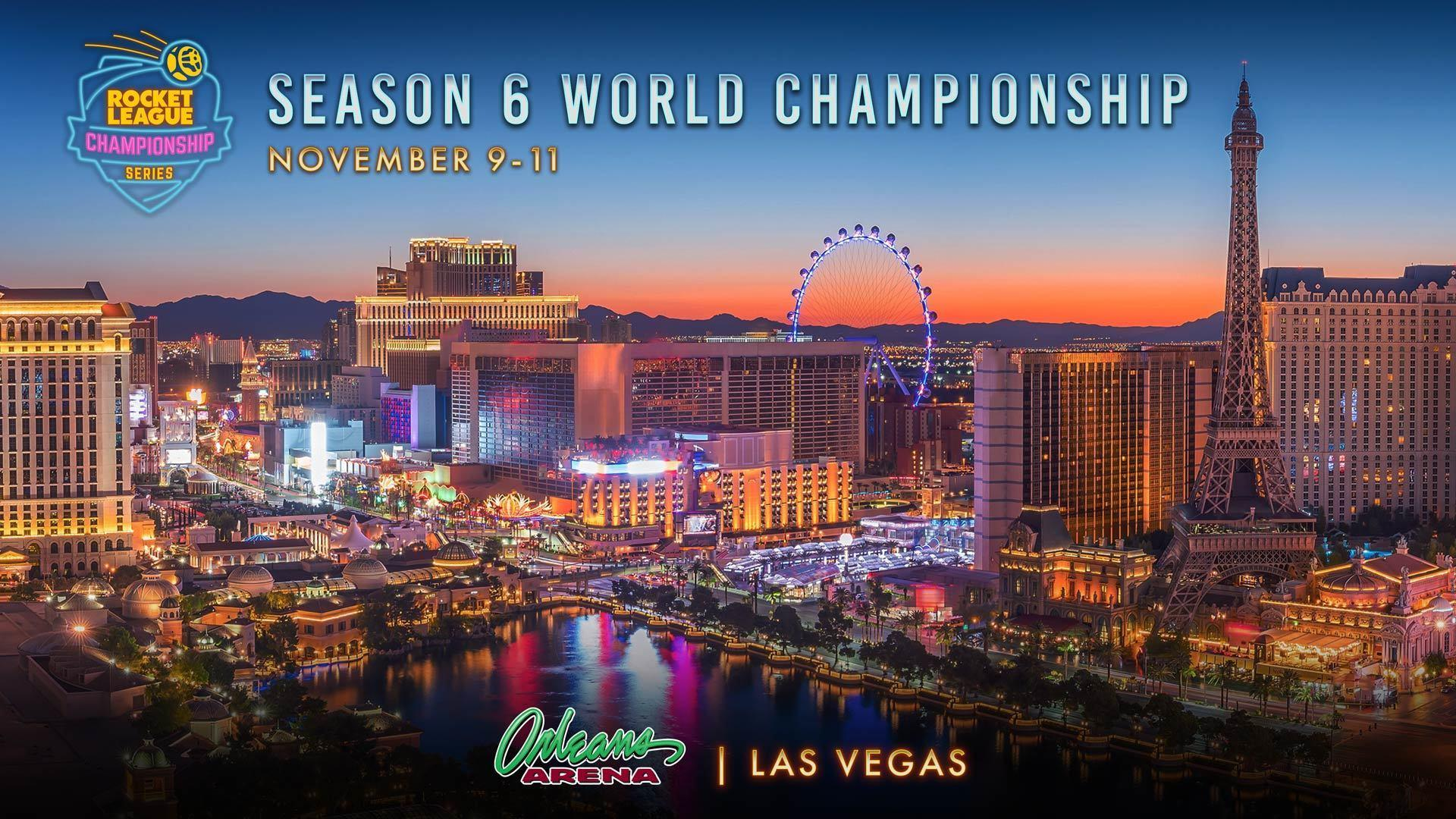 RLCS Season 6 World Championship is Heading to Vegas! Image