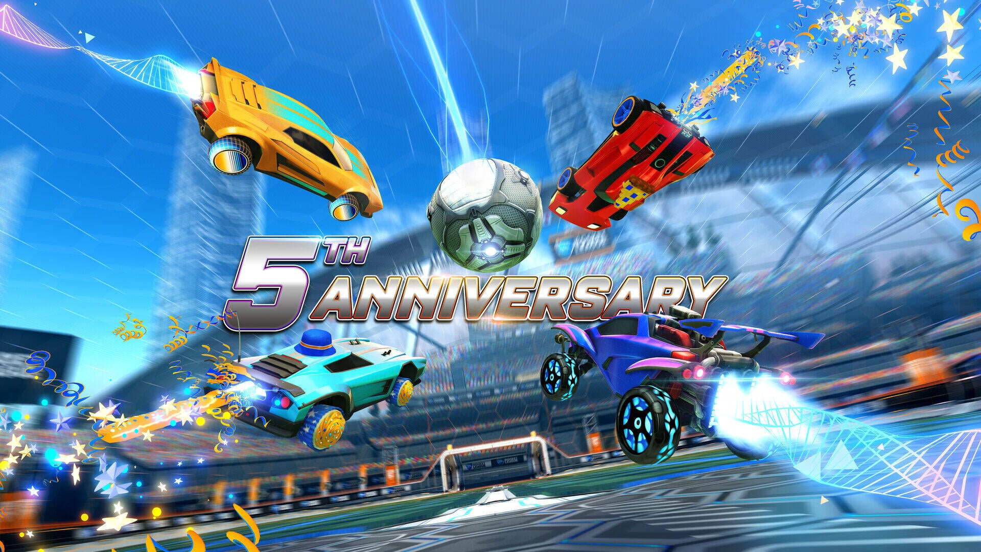 Gear Up For Rocket League's Fifth Anniversary Image