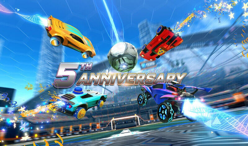 Gear Up For Rocket League's Fifth Anniversary article image