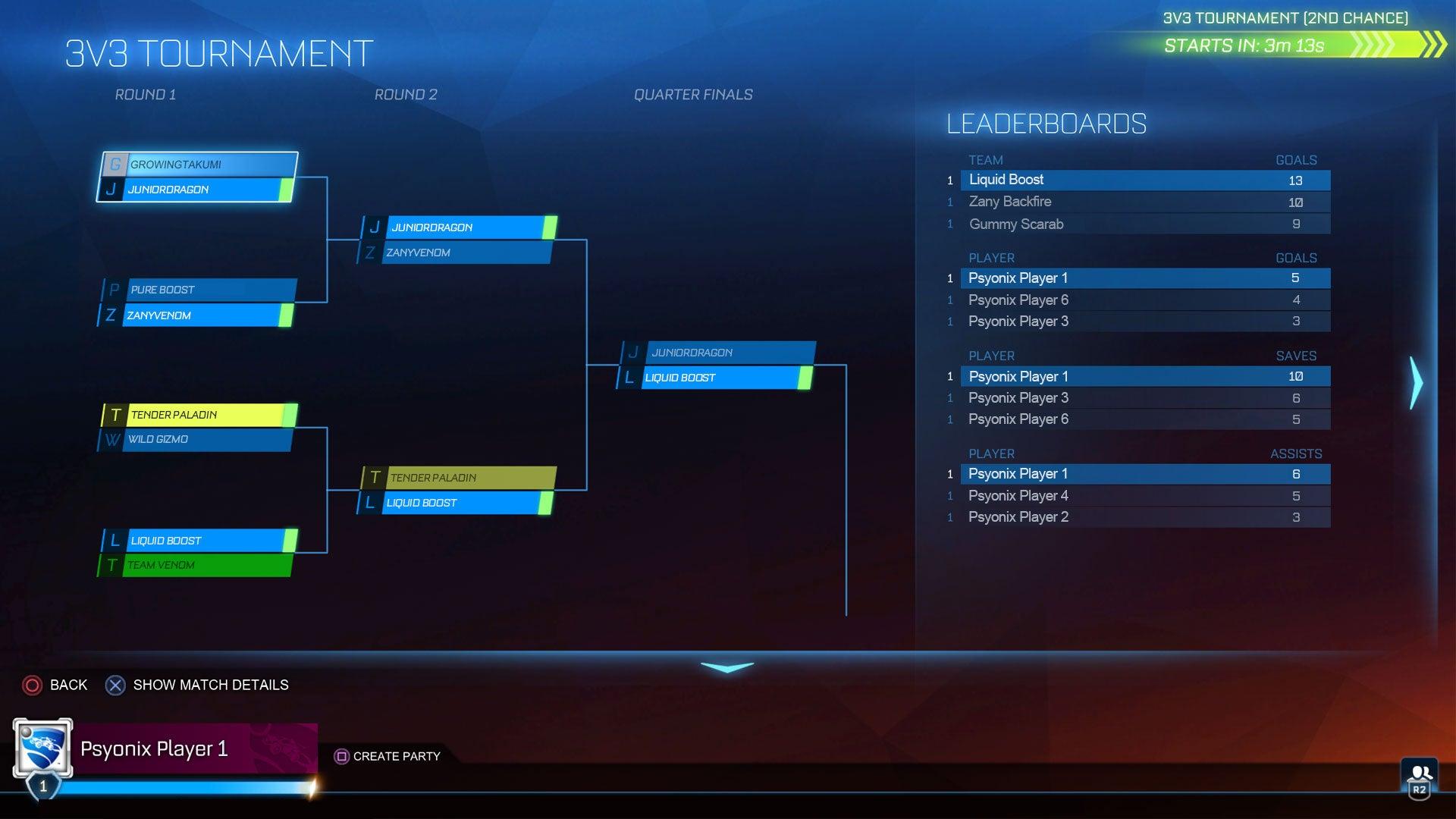 Support de tournoi