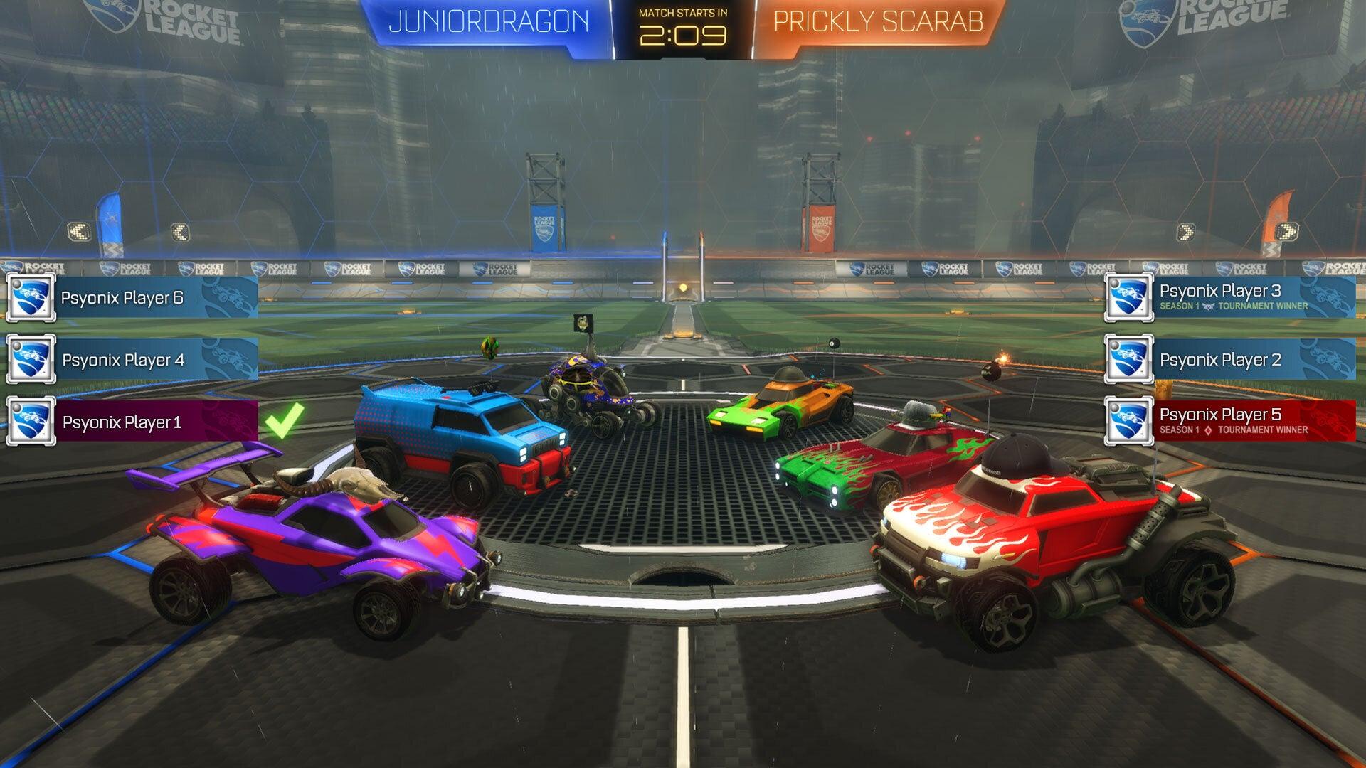 Tournaments Lobby