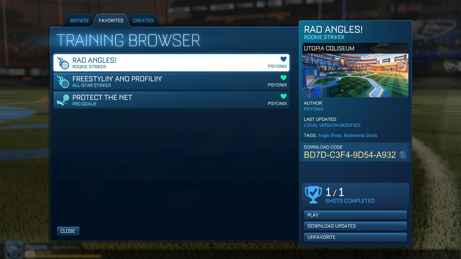 Customize Your Training Soon | Rocket League® - Official Site