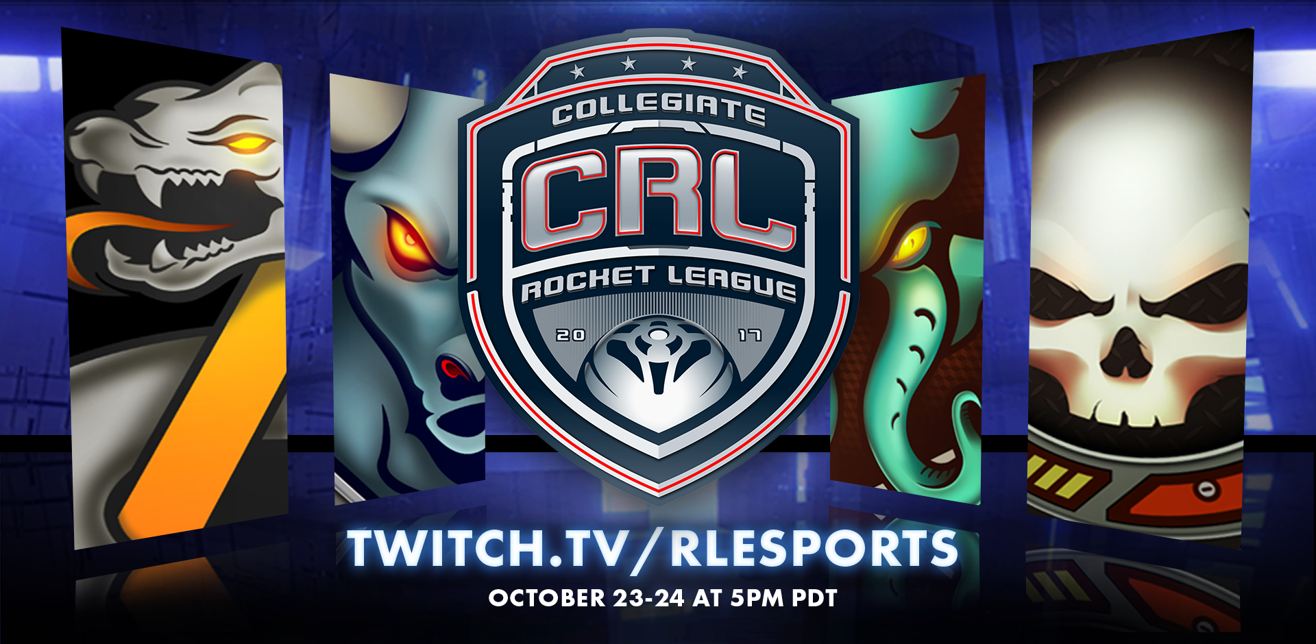League Play Begins for Collegiate Rocket League Image