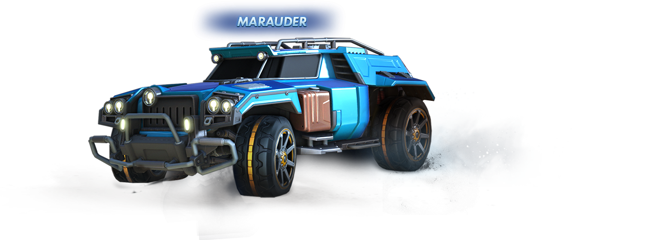 New Vehicle - Marauder