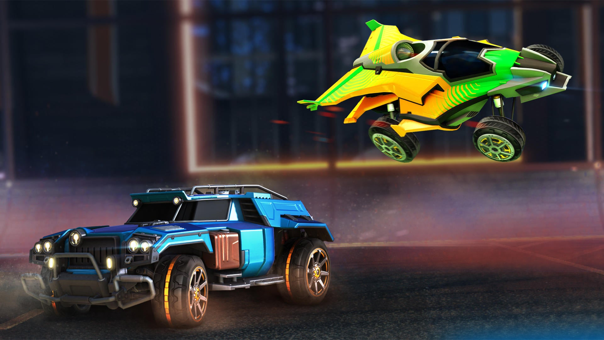 Battle-Cars Favorites Return as Premium DLC | Rocket League® - Official Site