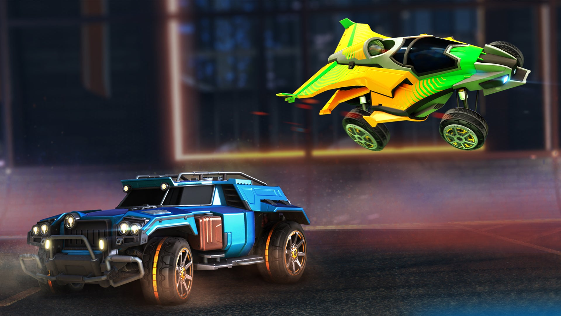 Four New Dlc Cars Available Today Rocket League Official Site