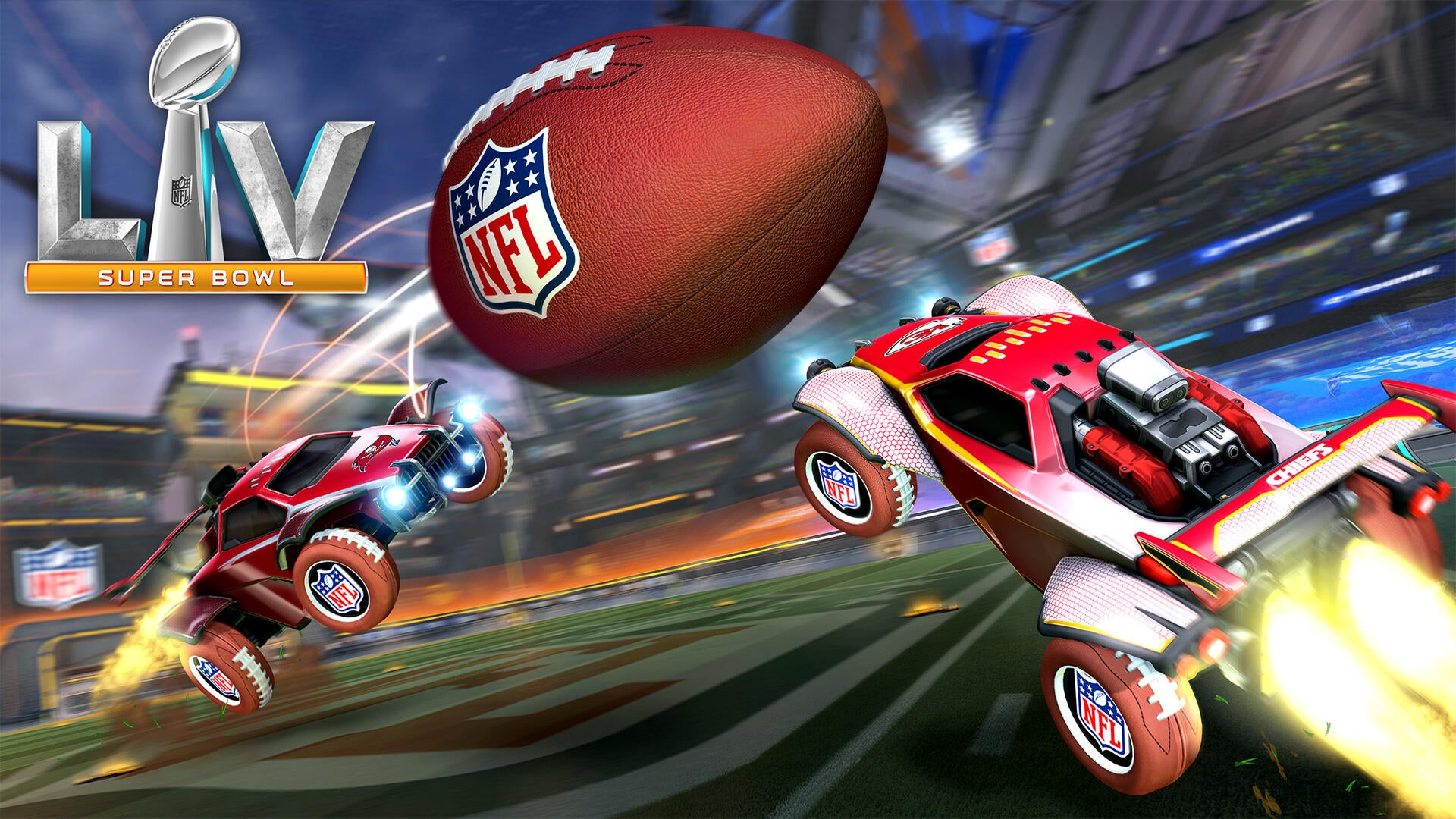Hora de celebrar o NFL Super Bowl LV no Rocket League Image