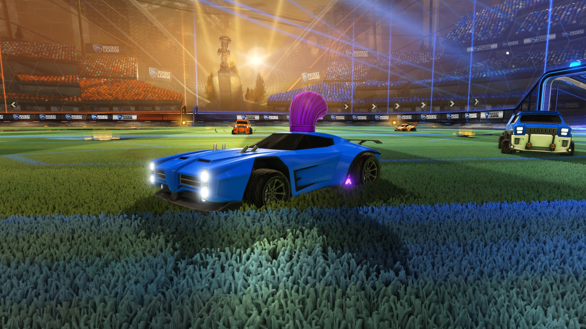 New Painted Items Dropping <br> in Rumble Update Image