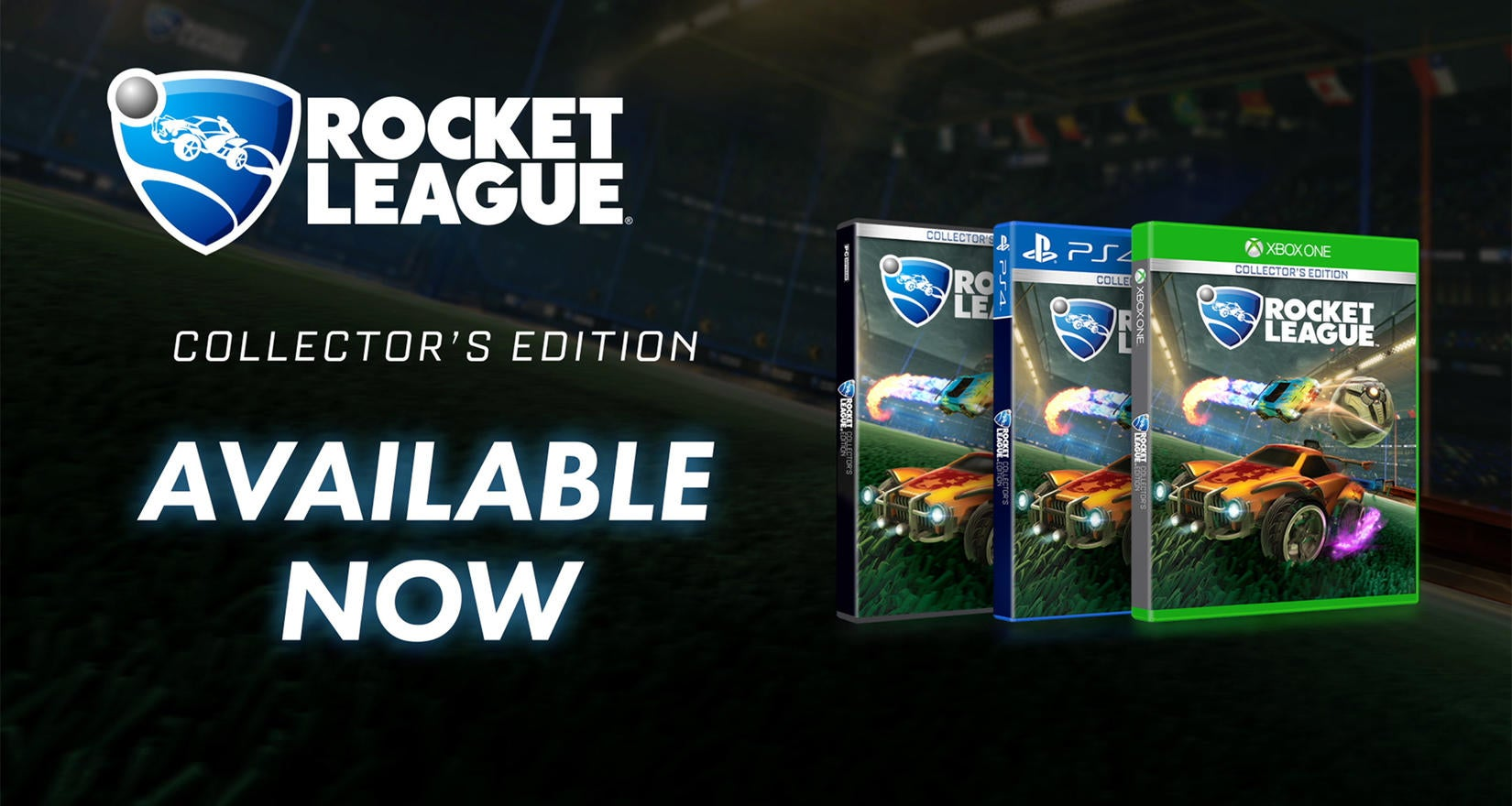 Rocket League® Collector's Edition Now Available Image