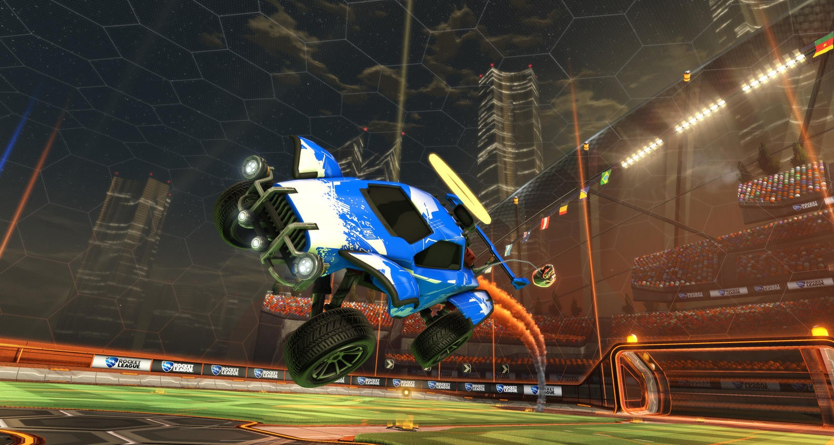 Rocket League's First Birthday Image