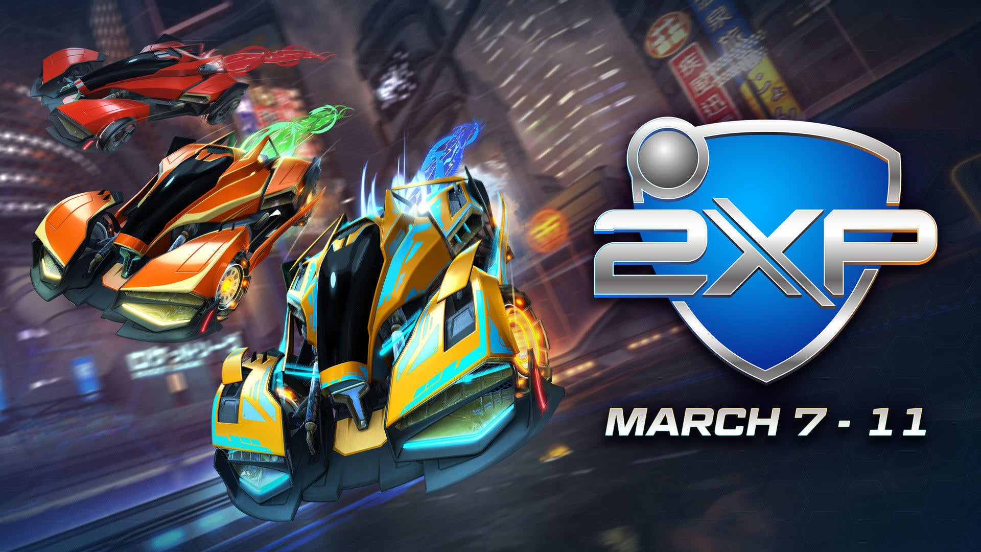 Double XP & Double Painted Weekend </br> Starts March 7 Image