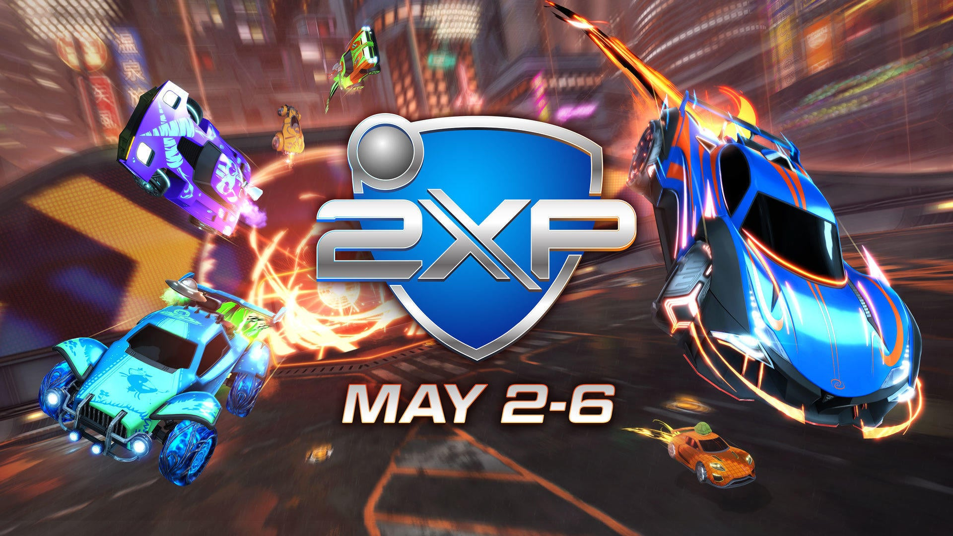 2XP Weekend starts May 2 Image