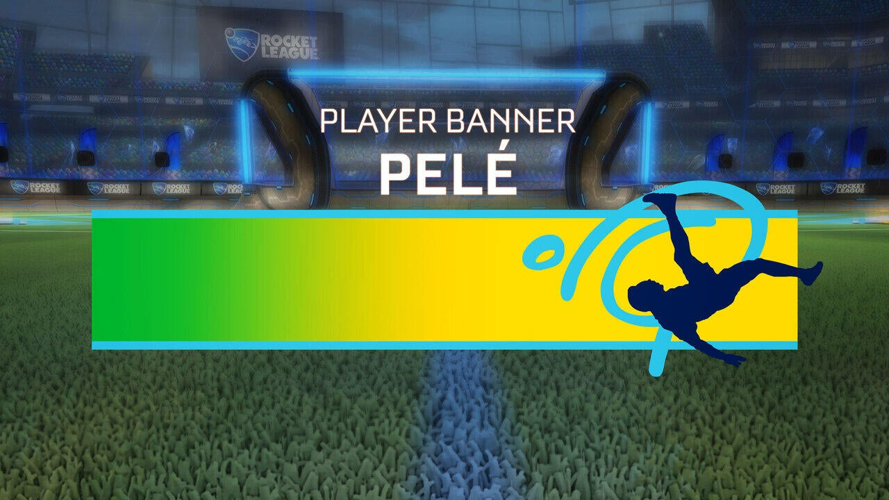 Pelé Player Banner