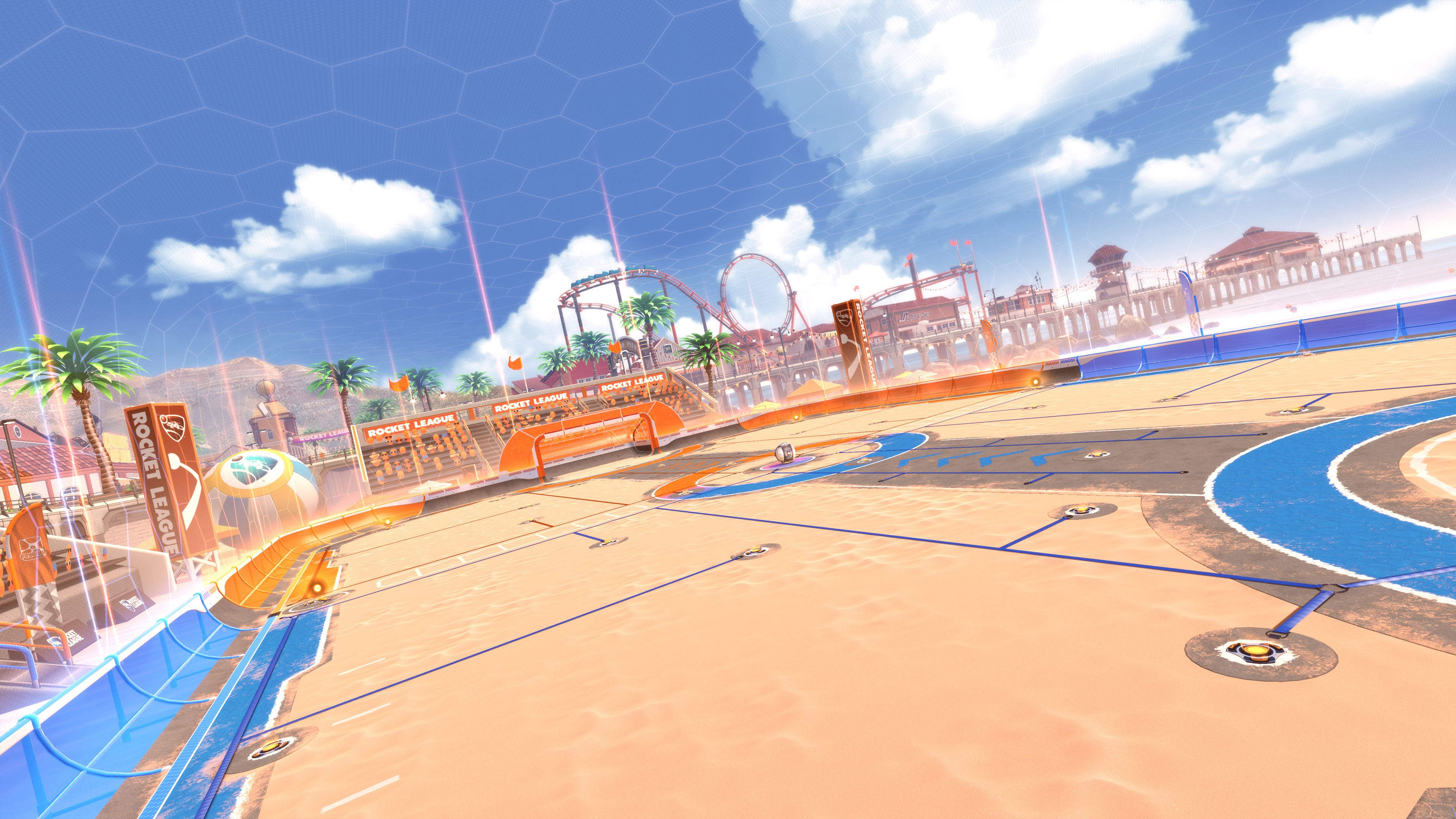 Nuevo mapa en la playa de Rocket League
