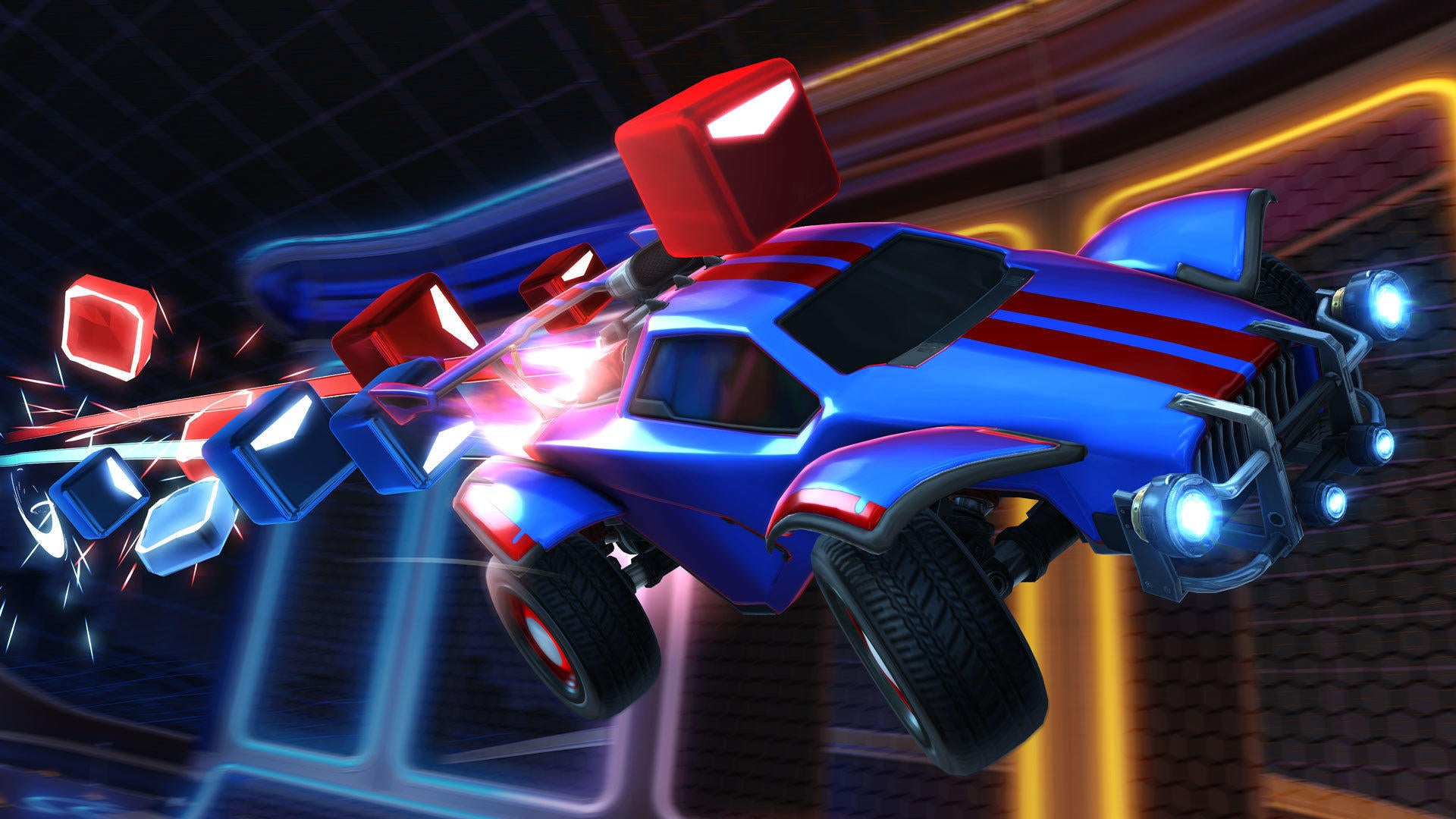 Rocket League and Beat Saber have synched up! Image